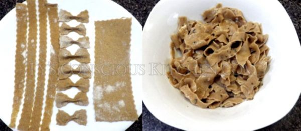 Alkaline Electric Homemade Pasta Cooked