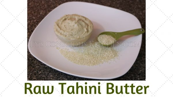 Alkaline Electric Raw Tahini Butter