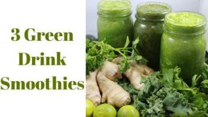 Alkaline Electric 3 Green Drink Smoothies Dr-Sebi-Recipe