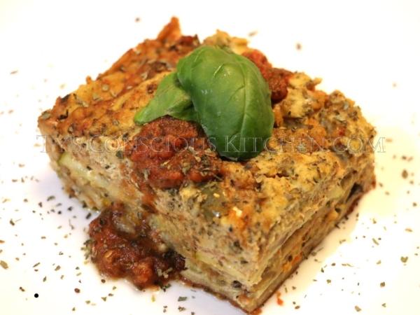 Alkaline Electric Veggie Lasagna