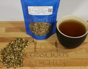 Alkaline Electric Burdock Root Tea