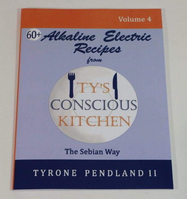 Alkaline Electric Recipes from Ty's Conscious Kitchen Vol. 4 Cookbook