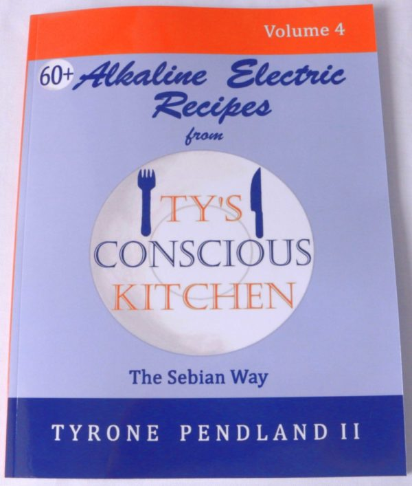 Alkaline Electric Recipes from Ty's Conscious Kitchen Cookbook Vol 4
