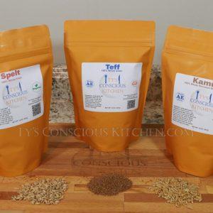 Ancient Grain 3-Pack: Spelt | Kamut | Teff