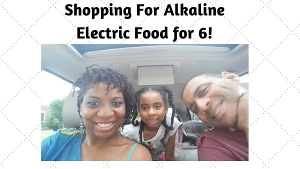 Alkaline Electric Shopping for Six