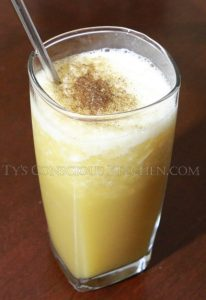 Alkaline Electric Apple Pie Seamoss Smoothie