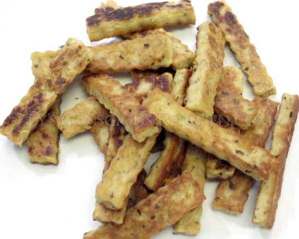 Alkaline Electric Chickpea Fries