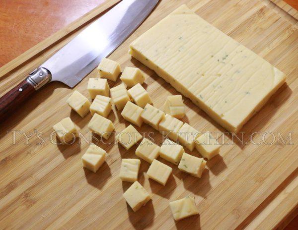 Alkaline Electric Chickpea Tofu