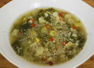 Alkaline Electric Ginger Soursop Soup