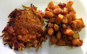 Alkaline Electric Butternut Squash Hash Browns Home Fries