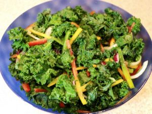 Alkaline Electric Kale Salad