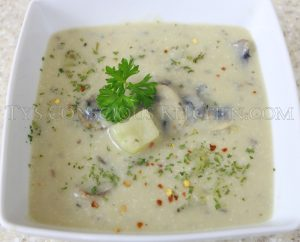 Alkaline Electric Mushroom Chayote Stew