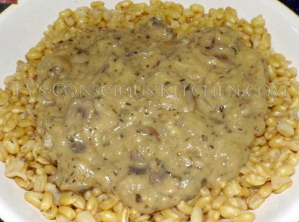 Alkaline Electric Recipe Mushroom Onion Gravy