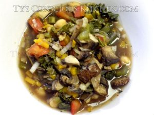 Alkaline Electric Mushroom Stew