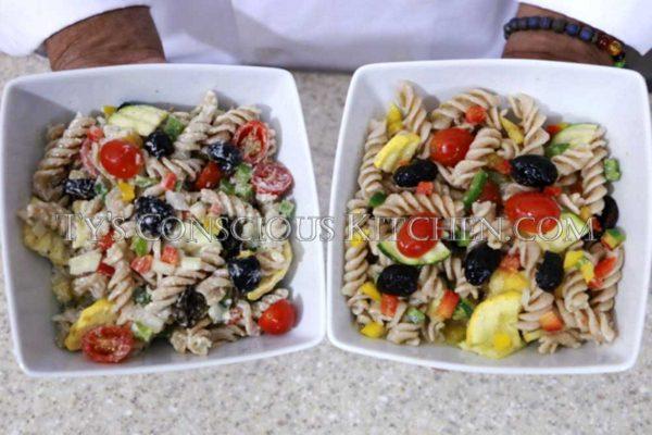 Alkaline Electric Pasta Salad