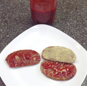 Alkaline Electric Strawberry Jam and Tahini Butter