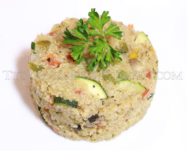 Alkaline Electric Vegetable Quinoa