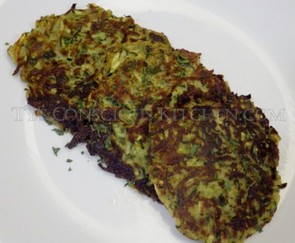 Alkaline Electric Zucchini Cakes