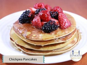 Alkaline Electric Chickpea Pancakes