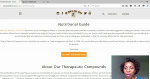 Dr Sebi New Website and Nutritional Guide