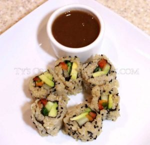 Alkaline Electric White Quinoa Sushi Vol 4