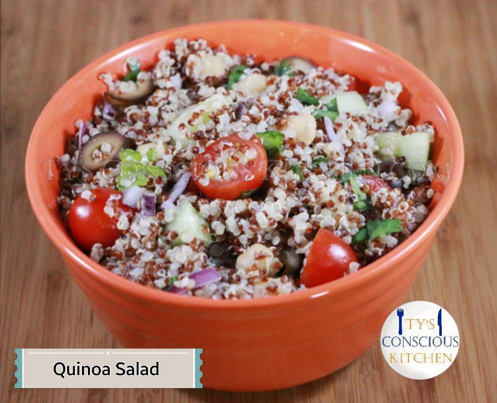 Alkaline Electric Quinoa-Salad