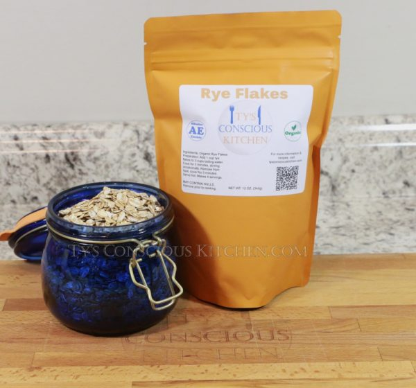 Rye Flakes Grain