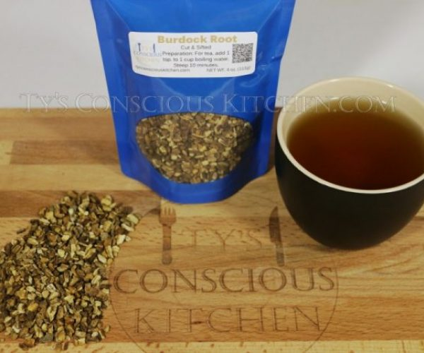 Alkaline Electric Burdock Root Tea