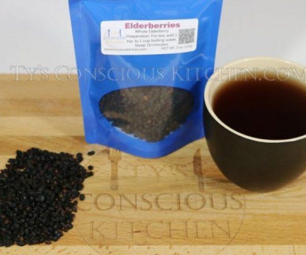 Alkaline Electric Elderberry Tea